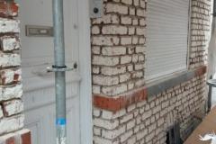 renovation de façade avant chantier