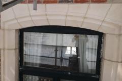 contour fenetre renovation facade travaux finis