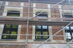 renovation mur façade chateau 1