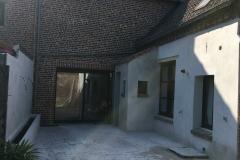 renovation de facade entrée