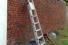 nettoyage mur cloture